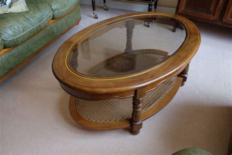 table bout de canapé table basse osier clasf