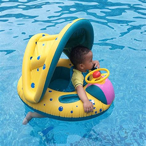 baby pool float with canopy lovehos baby pool floats with canopy swim ring