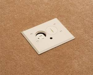 decorative floor outlet cover plate to match any interior With floor receptacle cover plate