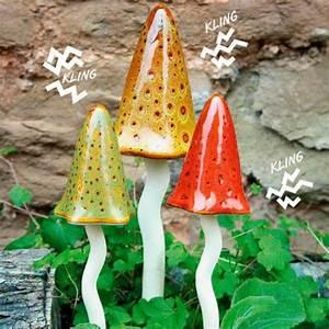 Deko Pilze Aus Keramik : keramik pilze zauberwald herbst 3er set von g rtner p tschke ~ Bigdaddyawards.com Haus und Dekorationen