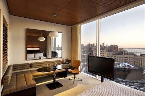 hotel avec cuisine york un hôtel design au cœur de manhattan avec une vue à couper