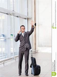 Waving Good Bye At Airport Stock Photography - Image: 23912402