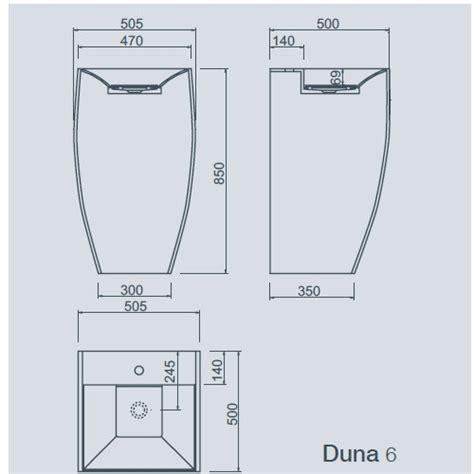 planit corian corian vask duna 6 fra planit