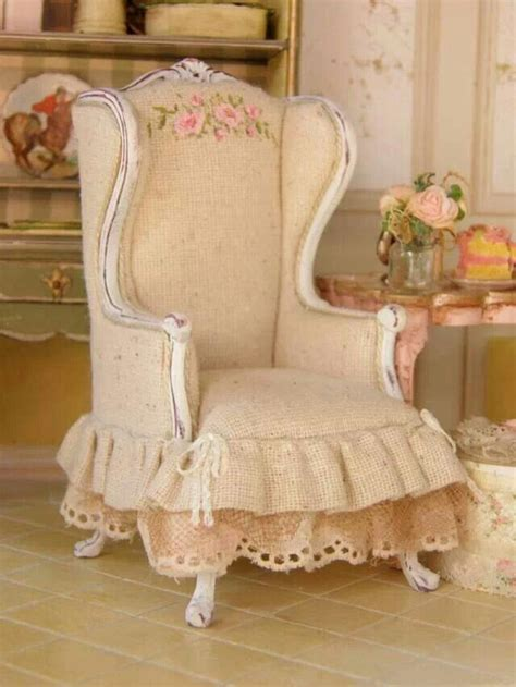 recycled chair shabby chic