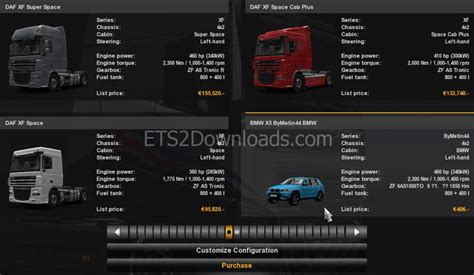 Mod Bmw X5 Truck Simulator 2 by Bmw X5 E70 Addons For Ets2 Ets2 World