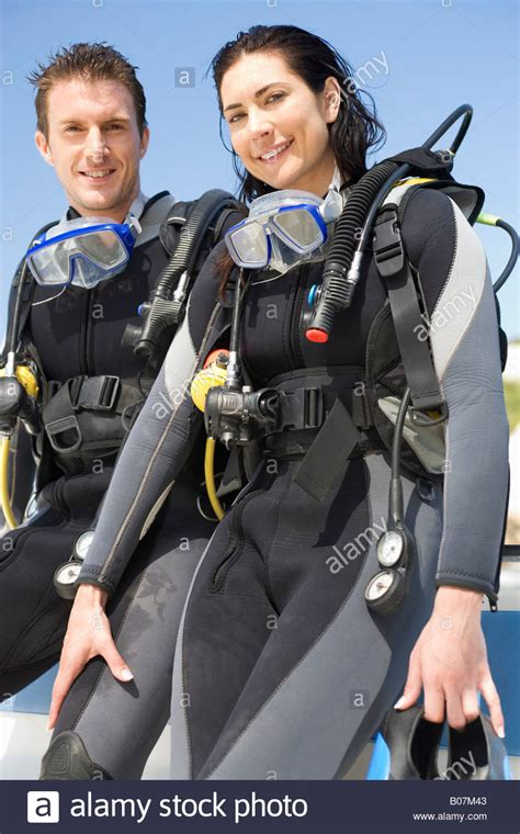 Scuba Dive Gear - a scuba diving in diving gear stock photo 17379827