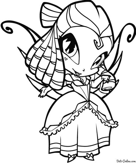 Kleurplaat Poppixie by Winx Pop Pixie Colouring Pages Az Coloring Pages