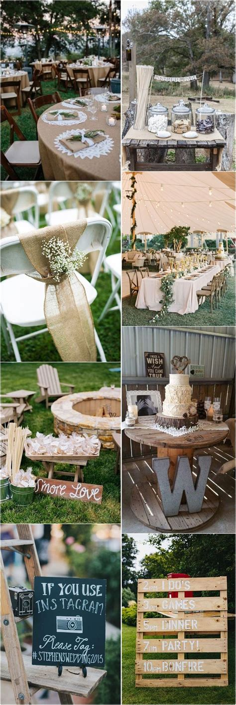 802 Best Rustic Weddings Images On Pinterest Outdoor