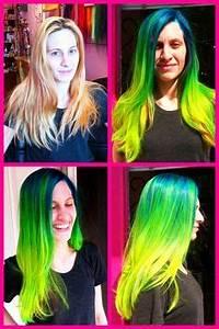 Pravana Neon Yellow Hair Pinterest