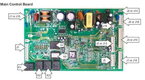 diagrama electrico de refrigerador general electric profiler heladera no mabe problemas
