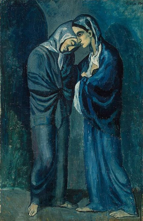 sisters pablo picasso hermitage museum