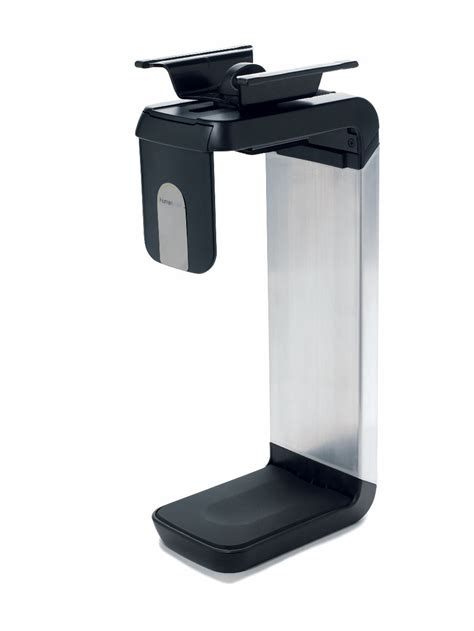 cpu holder desk mount small cpu600 cpu holders from humanscale