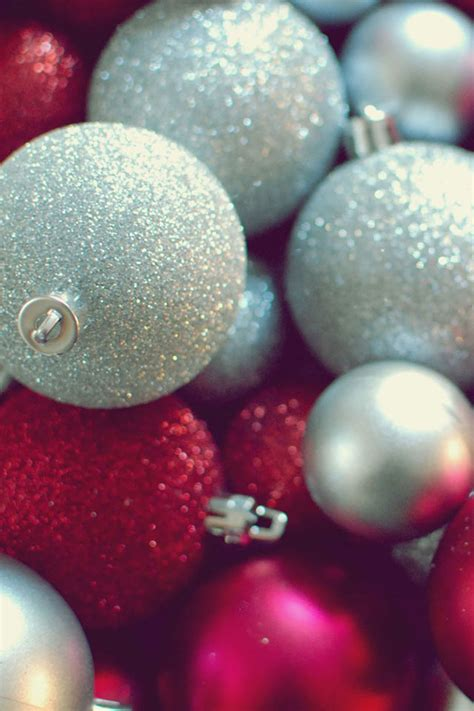 Christmas Ornaments Iphone Wallpaper Hd