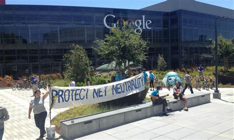 Occupy Google Protestors Arrested While Defending Net