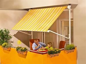 markise zum klemmen ut98 hitoiro With markise balkon mit tapete 70er muster