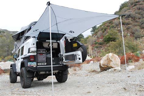 overland equipment habitat awning tent camping camping hacks jeep camping
