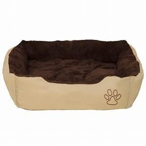 Panier Pour Chien Original : coussin pour chien lit pour chien panier pour chien douillet brun beige taille xl tectake ~ Teatrodelosmanantiales.com Idées de Décoration