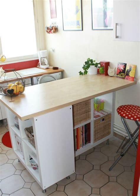 table etagere cuisine transformer une étagère ikea en un très beau meuble agencement idées maison