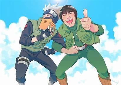 Kakashi Naruto Guy Gai Anime Hatake Fan
