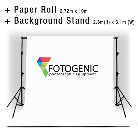 photo studio background backdrop stand includes white