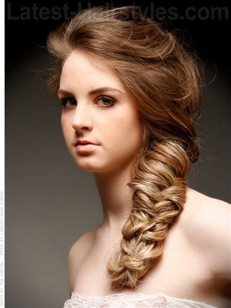 Long Hairstyle For Evening Party  Best Haircuts