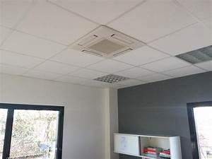 Installation D Une Climatisation : installation d 39 une climatisation r versible dans des bureau villefranche sur saone plombier ~ Nature-et-papiers.com Idées de Décoration