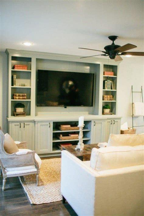 paint color  custom tv cabinet fixer upper season