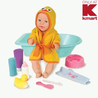 just kidz 15 quot baby doll with bath set