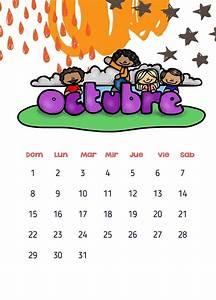Calendarios 2017 para niños con dibujos para descargar e