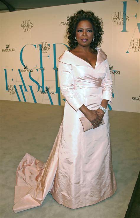 oprah winfrey evening dress oprah winfrey  stylebistro