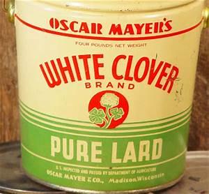 dandy bread and candy: Lard Bucket!