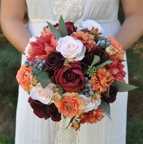 fall wedding flowers ideas  pinterest fall