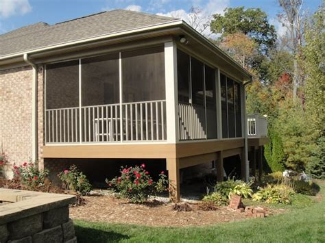 How Much To Build A Covered Porch by 2018 Screened In Porch Cost Screened In Porch Prices