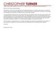 cover letter customer service representative examples