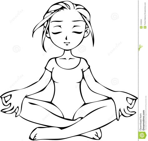 coloring pages  yoga yoga poses