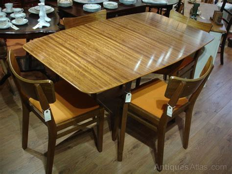 antiques atlas retro   solid teak dining table