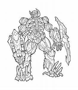How to Draw Shockwave, Shockwave, Dark of the Moon, Step ...
