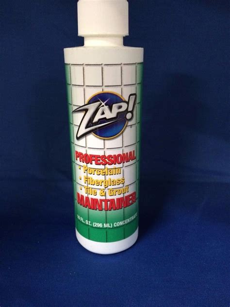 zap tile cleaner work new zap professional maintainer 10 oz tile grout