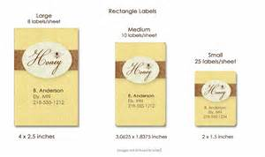 Template For Labels 30 Per Sheet Custom Honey Labels Label Specifications