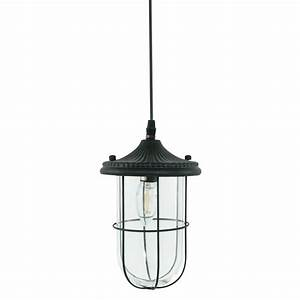 Suspension Industrielle Noire : suspension industrielle noir keene 14 5 cm lampe industrielle ~ Teatrodelosmanantiales.com Idées de Décoration