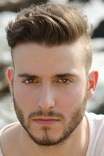 mens shaved sides hairstyles long top hairstyle for