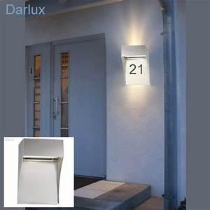 Außenleuchte Mit Hausnummer : au enlampe mit hausnummer glas pendelleuchte modern ~ Buech-reservation.com Haus und Dekorationen