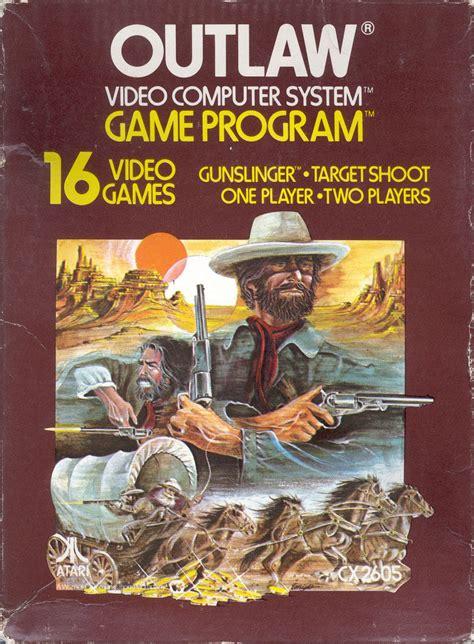 Outlaw 1978 Atari 2600 Box Cover Art Mobygames