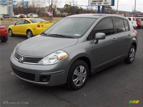 grey nissan versa 2008 magnetic gray nissan versa 1 8 s hatchback 3569271