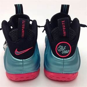 "Nike Air Foamposite Pro ""South Beach"" Customs by Sole Swap ..."