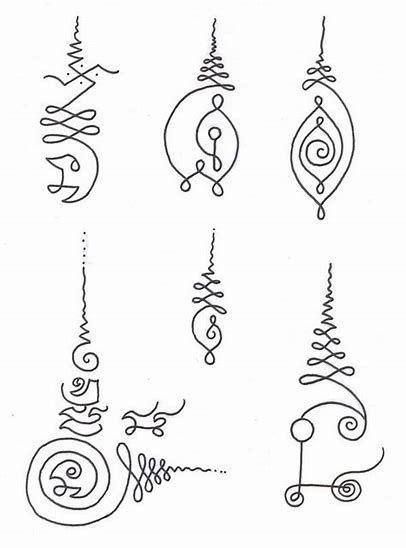 Thai Protection Symbol Tattoo | Drumming | Khmer tattoo, Tattoos, Mantra tattoo