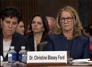 Why There's A Good Case For Sanctioning Christine Ford's ...