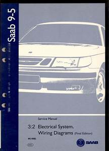 M1998 Saab 9  Wiring Diagram   Service