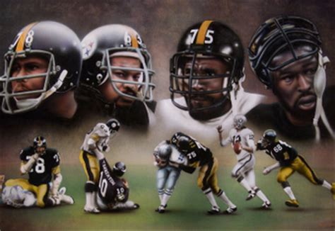 steelers the steel curtain pittsburgh steelers the nfl s steel curtain bleacher report