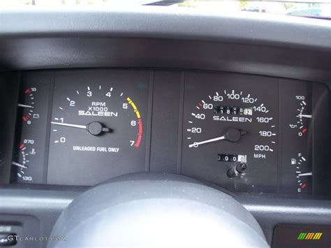 1989 Ford Mustang Saleen Ssc Fastback Gauges Photo